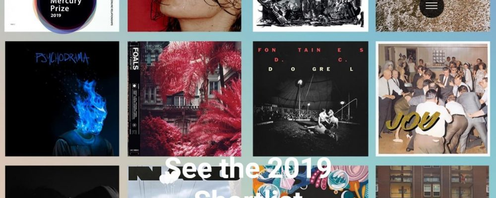 Shortlist for 2019 Hyundai Mercury Album of the Year Prize